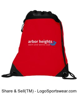Arbor Heights Drawstring Pack Design Zoom
