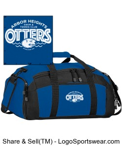 Arbor Heights Otters Gym-Bag Design Zoom