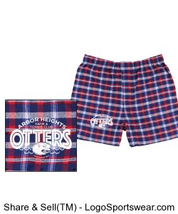 Adult Classic Flannel Boxer Design Zoom